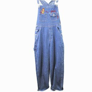 I58 Vintage Disney Pooh Bear Denim Embroidered